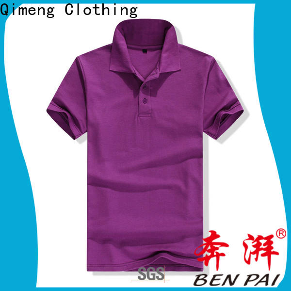 QiMeng clothing ladies polo t shirts for promotional campaigns