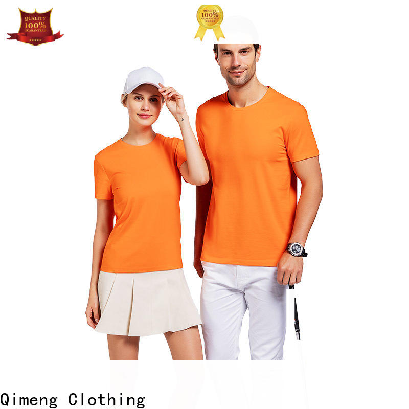 outdoor t shirts cotton plain in different color for promotional campaigns