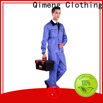 QiMeng fashion uniform shirt for-sale for team-work