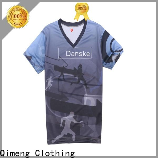 QiMeng women t-shirts supplier for promotional campaigns