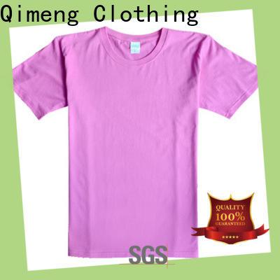 QiMeng shirt mens t shirts supplier for outdoor activities