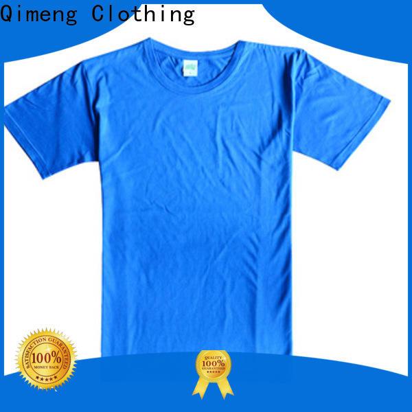 QiMeng shir tee shirts custom print for outdoor activities