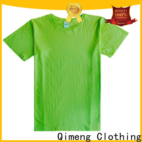 QiMeng clothing women t-shirts in different color for team-work