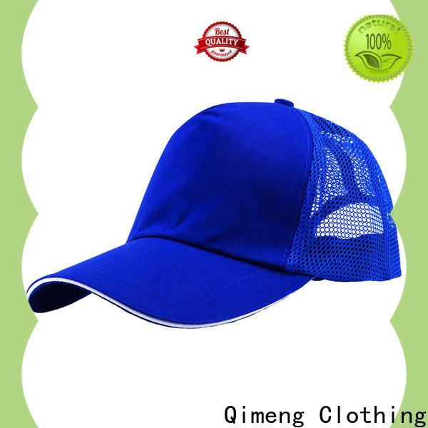 QiMeng simple cap custom with good price in work room