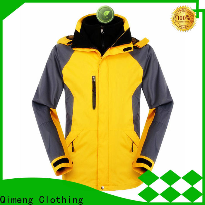 QiMeng prices waterproof hiking jacket factory in spring