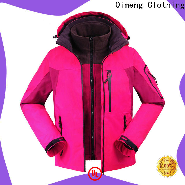 QiMeng breathable hiking jacket producer for daily wear