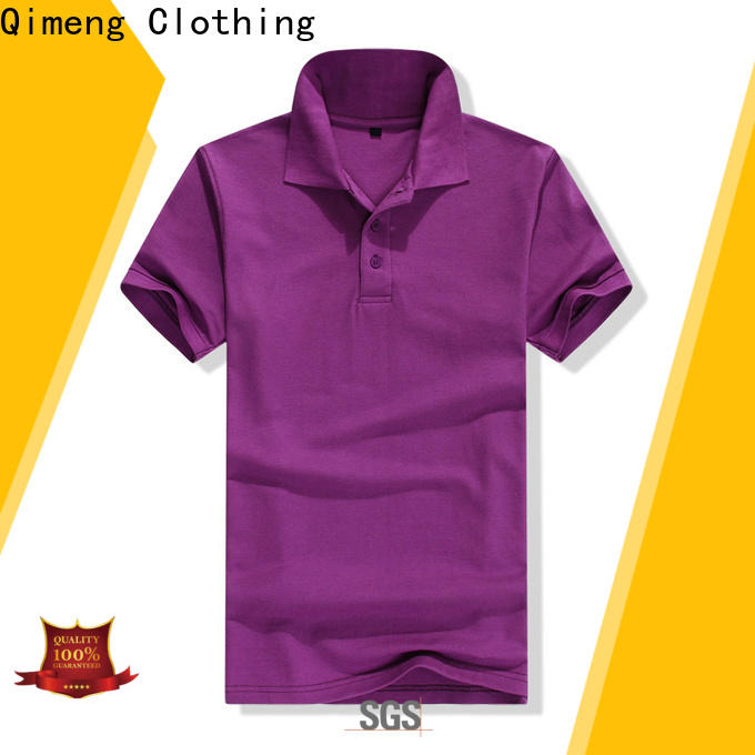 QiMeng directly cotton polo shirts women with many colors