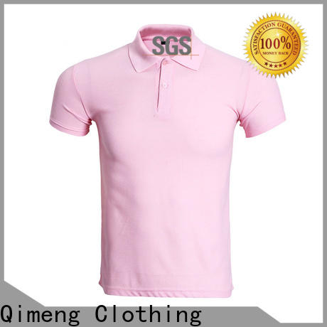 QiMeng 100%cotton ladies polo t shirts  supply  for business meetings