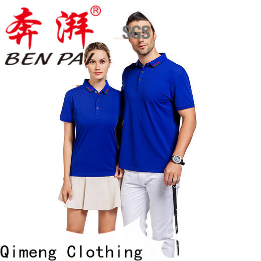 inexpensive plain polo shirts style factory price for business meetings