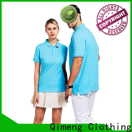 QiMeng sleeve polo shirt 100% cotton vendor for daily wear