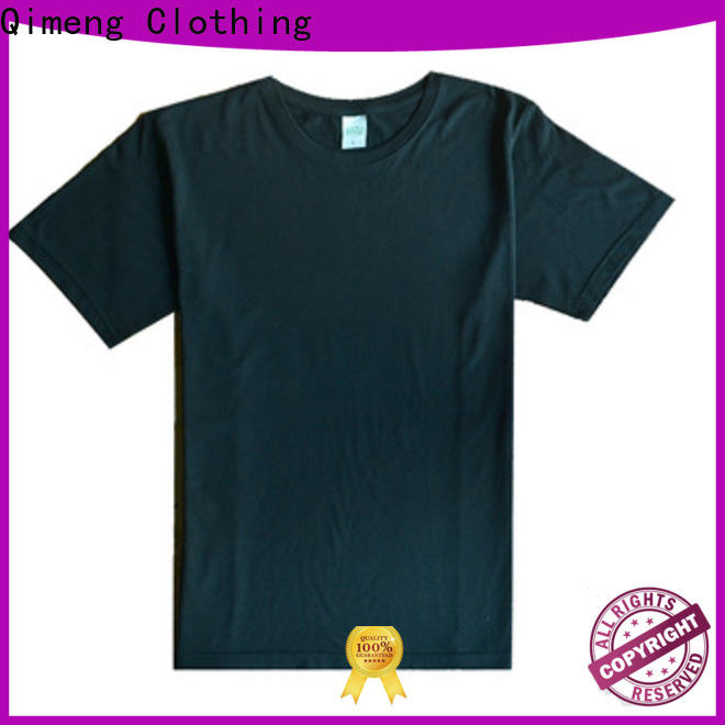 QiMeng bulk custom tee shirts wholesale for promotional campaigns