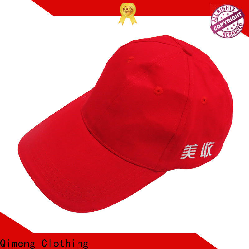 QiMeng sublimation 5 panel cap factory in work room