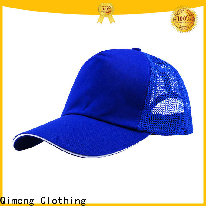 QiMeng fashion ponytail baseball cap with many colors for campaigns