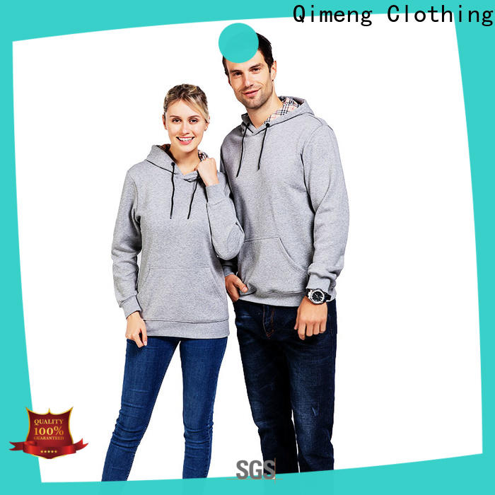 QiMeng new-selling womens hoodies for man for daily wear