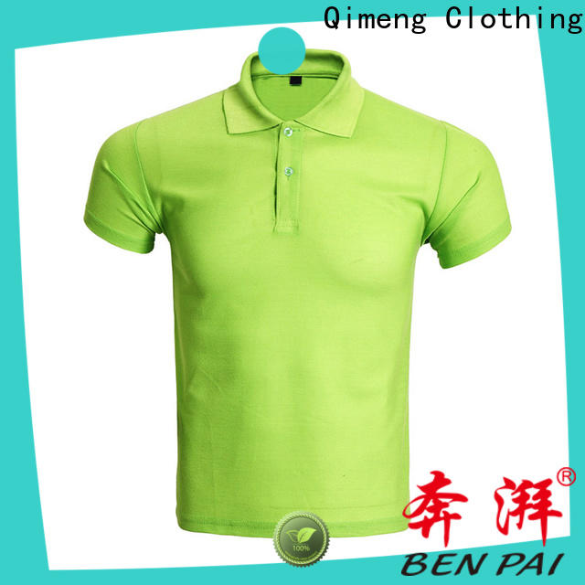 QiMeng 100%cotton polo sport shirts supply for team-work