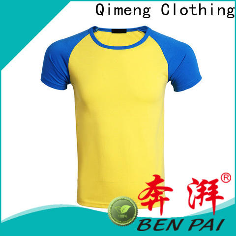 QiMeng modern printed t-shirts for women supplier for daily wear