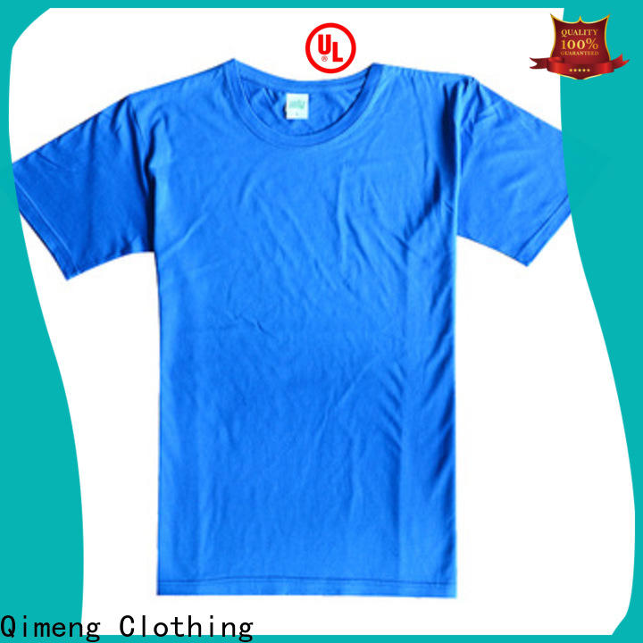 QiMeng customized custom printed t shirts for-sale for daily wear