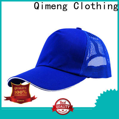 QiMeng simple baseball cap custom directly sale for campaigns