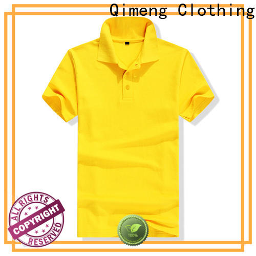 QiMeng hot-selling men golf polo shirt vendor