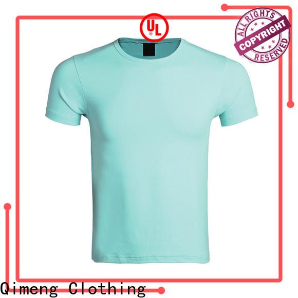 QiMeng customizable o neck t shirt price for daily wear