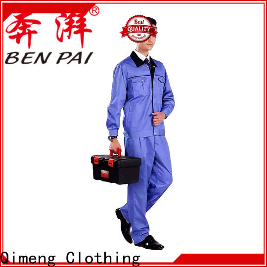 QiMeng construction custom school uniform price for team-work