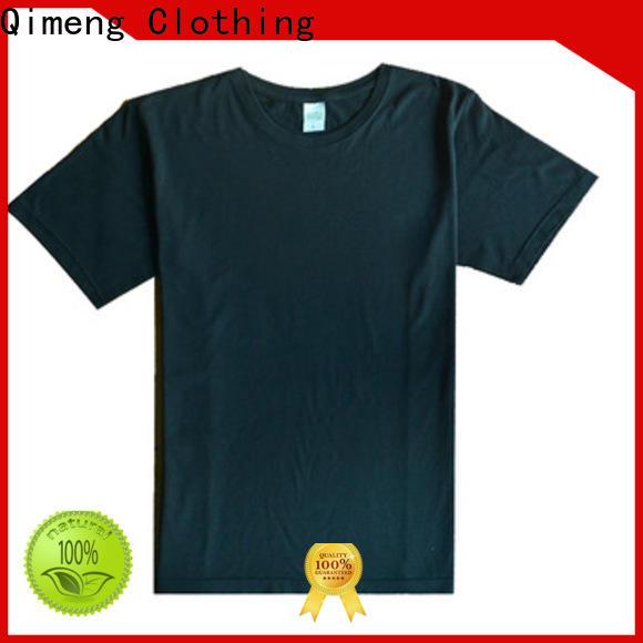 QiMeng high-quality custom t-shirt for team-work