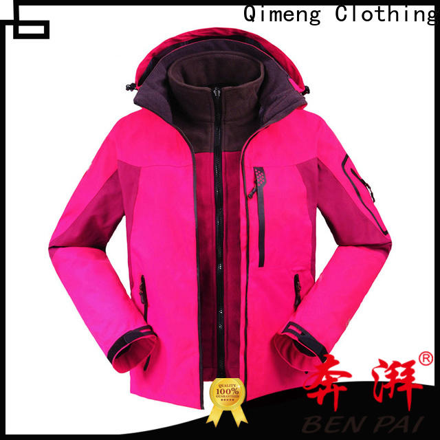QiMeng winter best softshell jacket in spring
