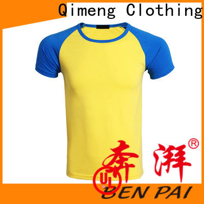 QiMeng 100%cotton printed t-shirts for women for team-work