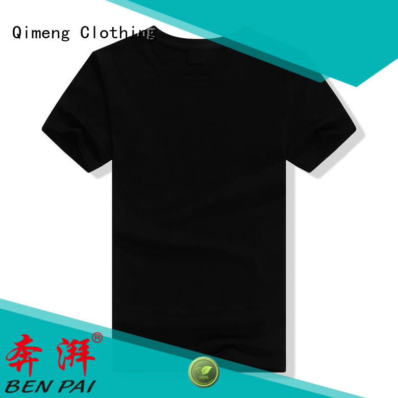 QiMeng printed wholesale t shirts wholesale for sports