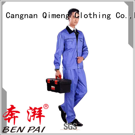 QiMeng newly waitress uniform for man for outdoor activities