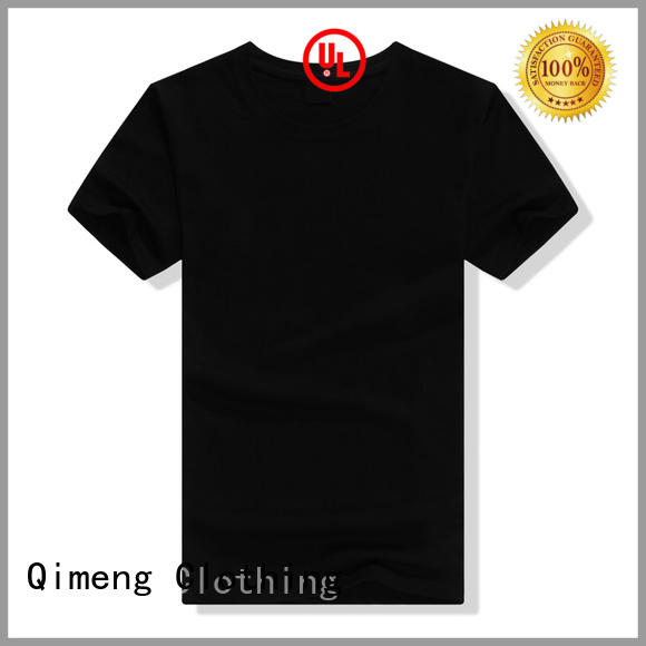 QiMeng cotton slim fit t shirt in different color for sports