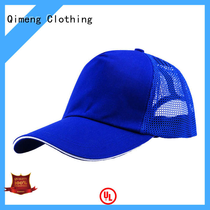 QiMeng promotional sport cap factory price for sports