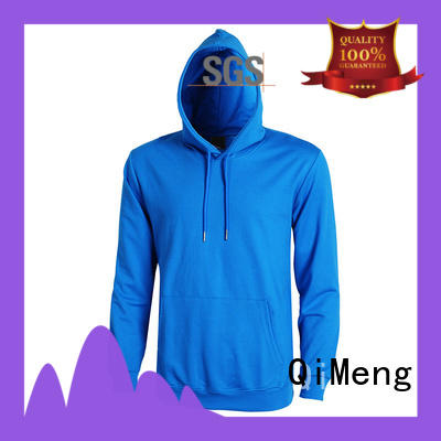 QiMeng shirt sports hoodies price for sporting