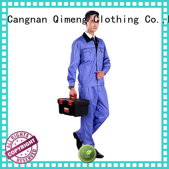 QiMeng uniform polo shirt worker in school