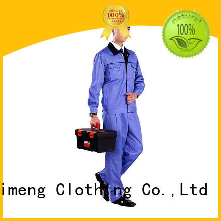 QiMeng quality polo uniform shirts workwear in work room