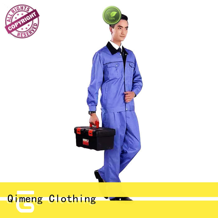 QiMeng fine- quality work wear uniform for-sale in work room