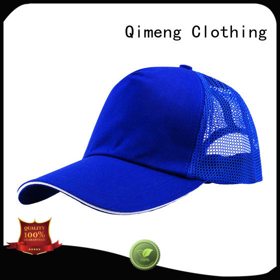 QiMeng fashion sports cap button design in work room