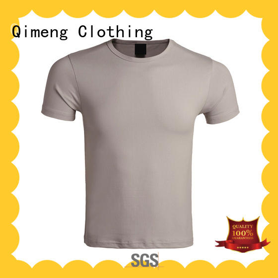 soft 100% cotton t shirt supplier for promotional campaigns QiMeng