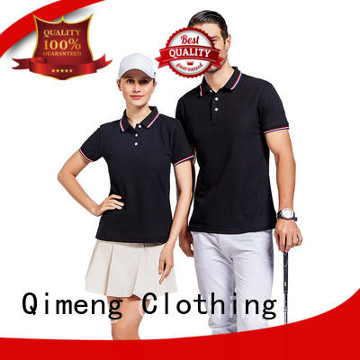 directly men t shirts polo wholesale for leisure travel QiMeng