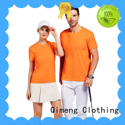QiMeng plain custom printed t shirts price in street