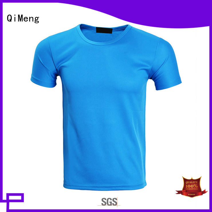 QiMeng customized plain white t-shirts experts for team-work