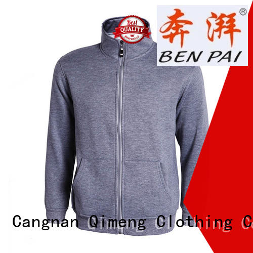 QiMeng nice unisex hoodies man for daily wear