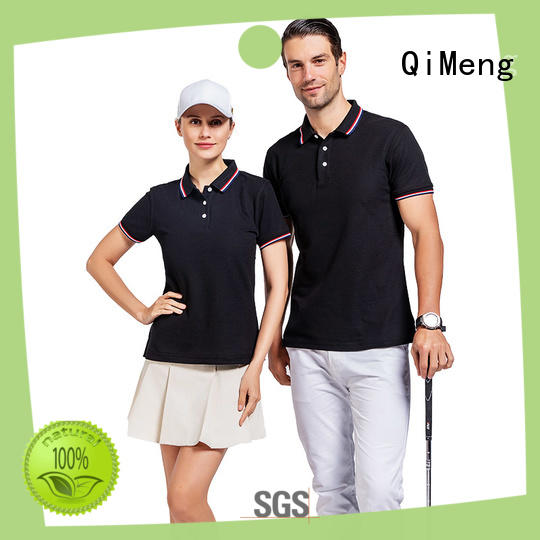 QiMeng best ladies polo t shirts manufacturer