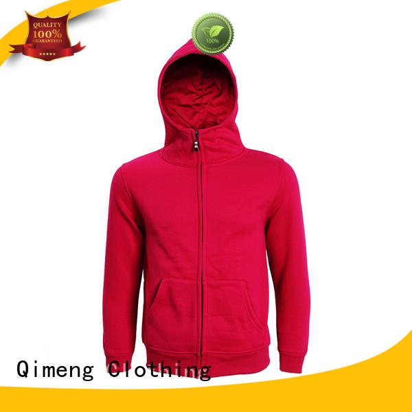 mens black hoodies men from China for daily wear QiMeng