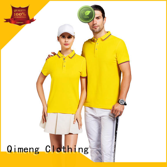 QiMeng simple custom polo shirts  supply  for business meetings