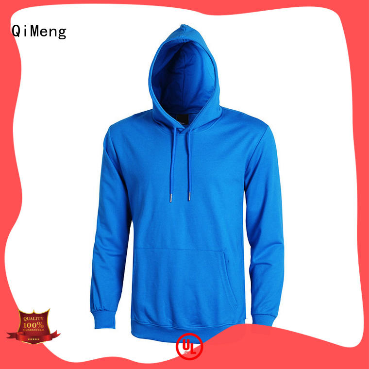 plain street style hoodies mens for outdoor activities QiMeng