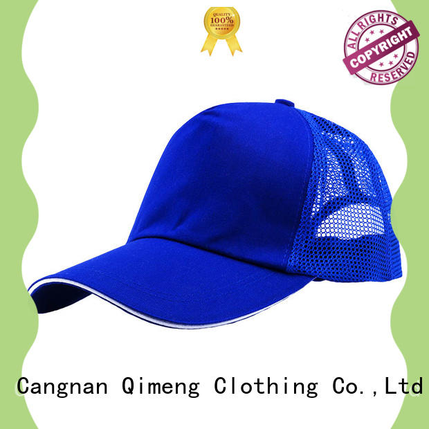 QiMeng wholesale custom made hats with many colors