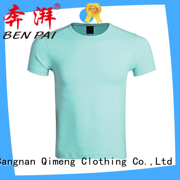 QiMeng sleeveless screen printed t-shirts price in street
