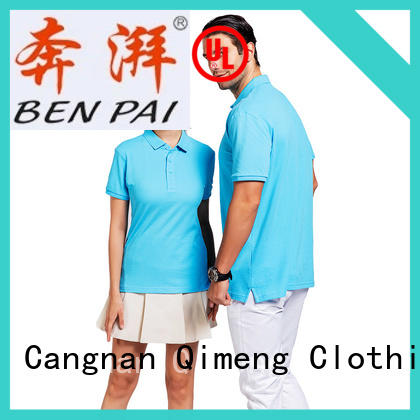 QiMeng latest-arrival polo sport shirts prices  for business meetings