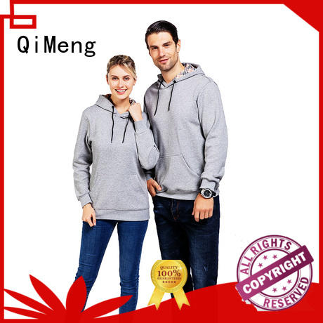 blank sweatshirts hoodies for man for promotional campaigns QiMeng